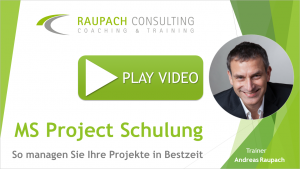 MS Project Schulung